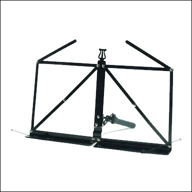 ATRIL DE PARTITURAS TABLE MUSIC STAND MST-102F-1 COLOR NEGRO